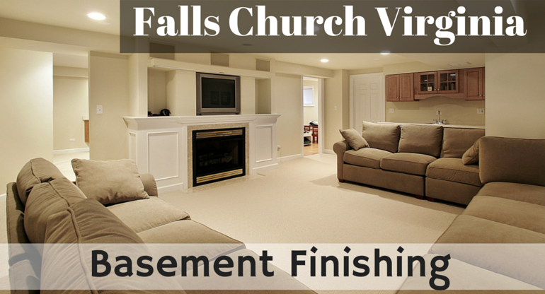 Falls Church Basement Finishing