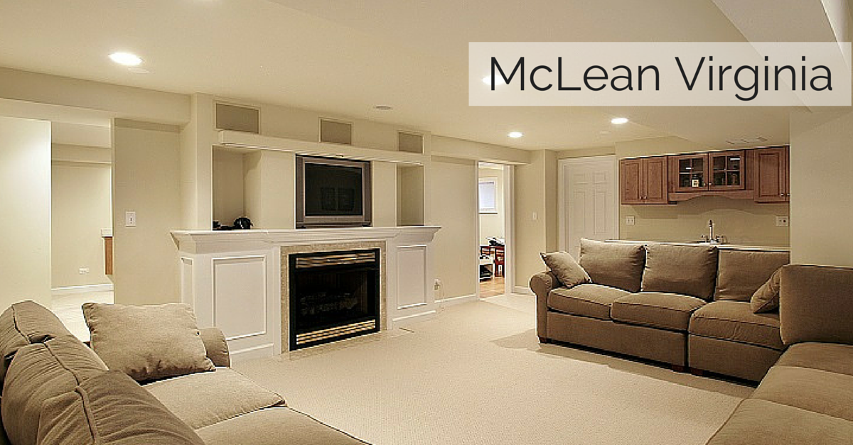 McLean Virginia Basement Finishing