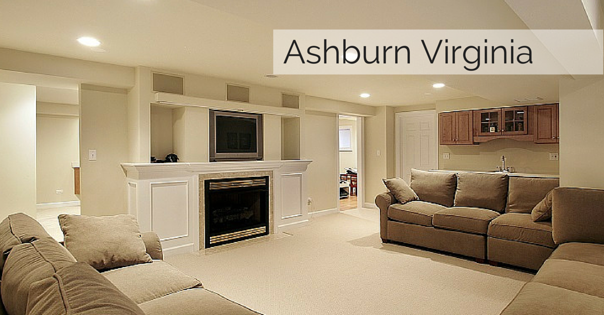 Ashburn Virginia Basement Finishing